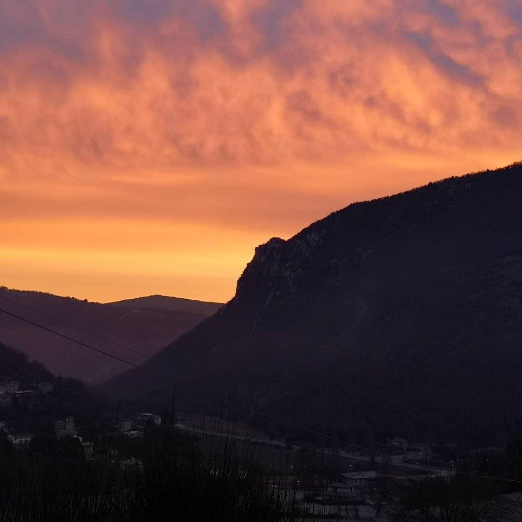 Stunning sunrises this morning