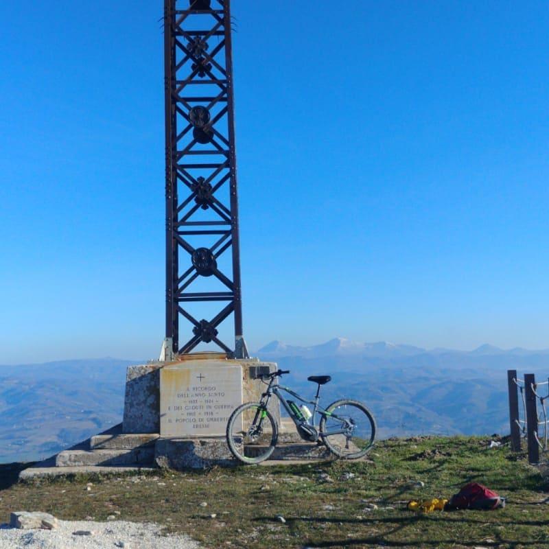 Take a bike ride to the top 1