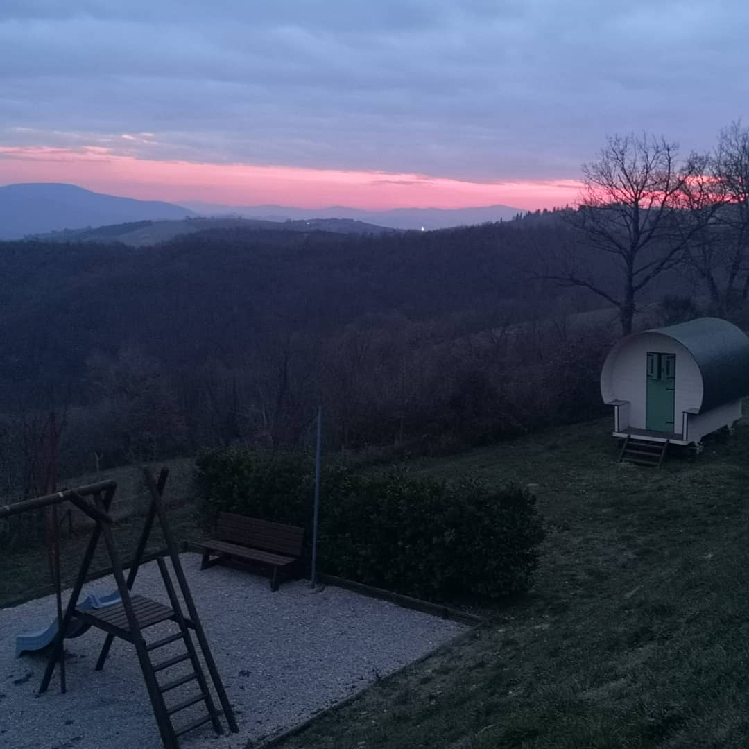 Great sunrise this morning in Umbria 1