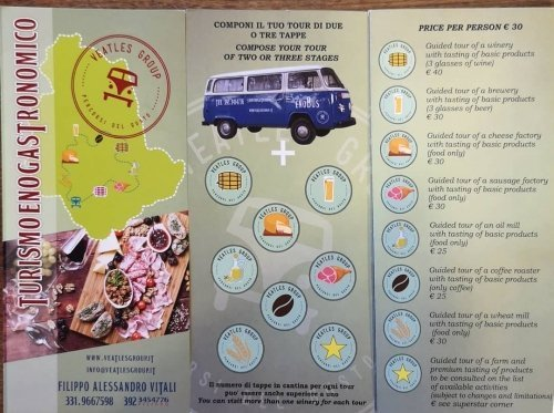 Guided foodie or wine tours around Umbria. Great ideas